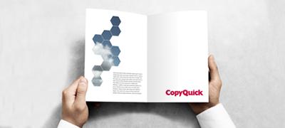 Copyquick Präsentation und Weiterverarbeitung