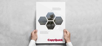 Copyquick Poster und Fotos