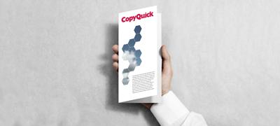 Copyquick Flyer und Prospekte